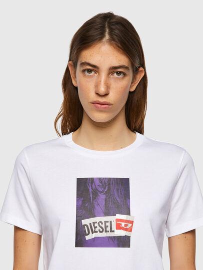 Diesel - T-SILY-B3, Blanco - Camisetas - Image 3
