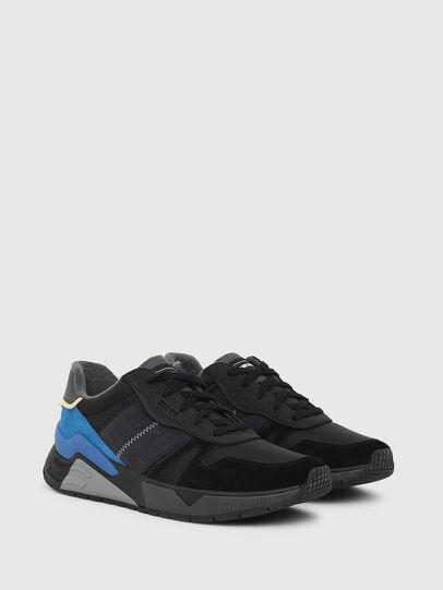Diesel - S-BRENTHA FLOW, Negro/Azul - Sneakers - Image 2
