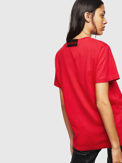 Diesel - LCP-T-DIEGO-LISBOA, Rojo - Camisetas - Image 4