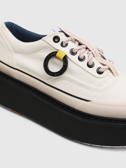 Diesel - H-SCIROCCO LOW, Blanco/Rosa - Sneakers - Image 4