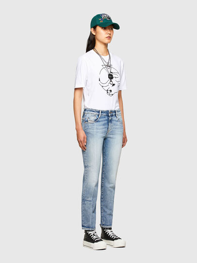 Diesel - CL-T-JUST-O, Blanco - Camisetas - Image 8