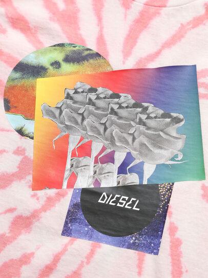 Diesel - TSILYTD, Rosa/Blanco - Camisetas y Tops - Image 3