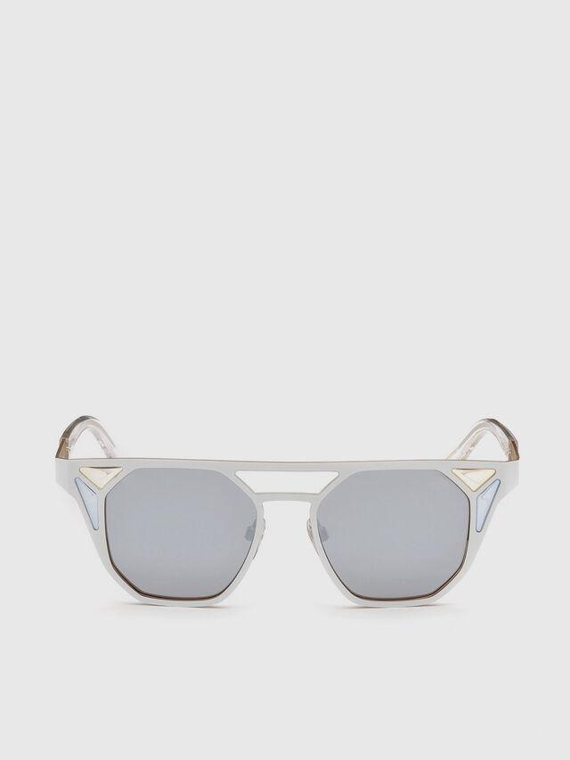 Diesel - DL0249, Blanco - Gafas de sol - Image 1