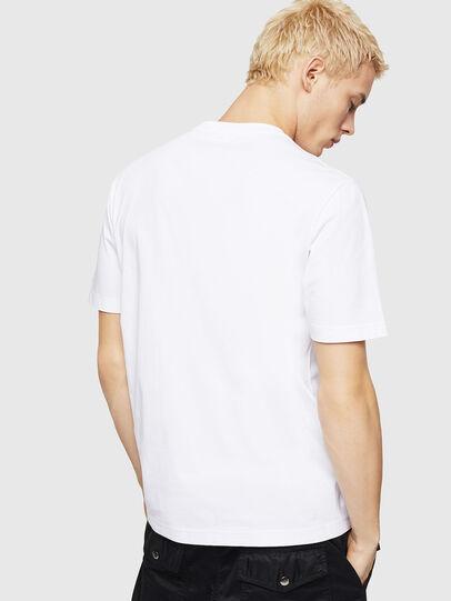 Diesel - T-JUST-DIVISION-D, Blanco - Camisetas - Image 2
