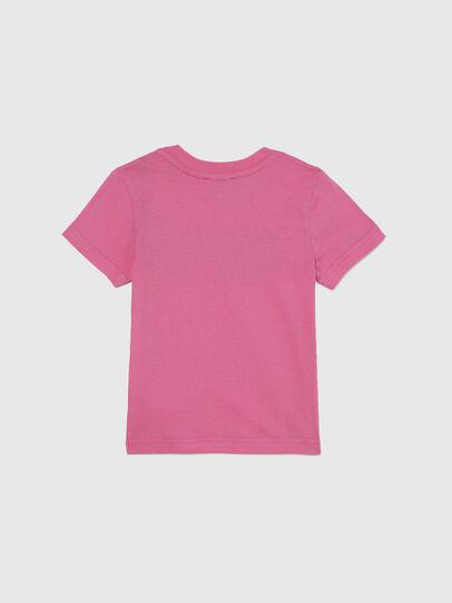 Diesel - TJUSTLOGOB-FL MC-R, Rosa - Camisetas y Tops - Image 2