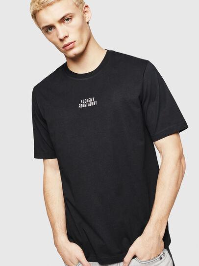 Diesel - T-JUST-A8, Negro - Camisetas - Image 1