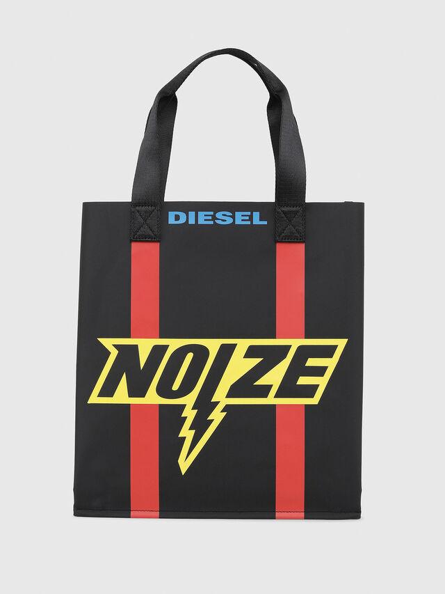 Diesel - BILLBOARD SHOPPER, Negro/Amarillo - Bolsos - Image 1