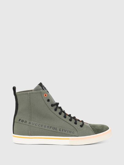Diesel - S-DVELOWS ML, Verde Militar - Sneakers - Image 1