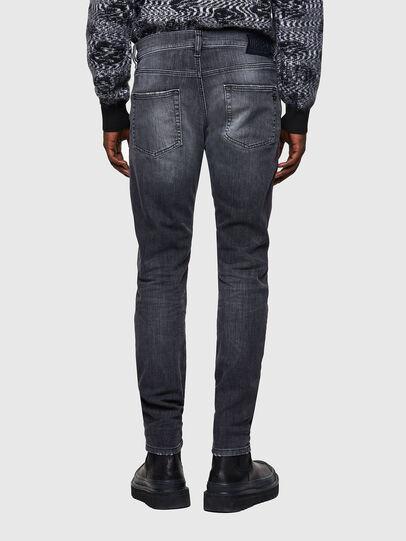 Diesel - D-Strukt JoggJeans® 009QT, Negro/Gris oscuro - Vaqueros - Image 2