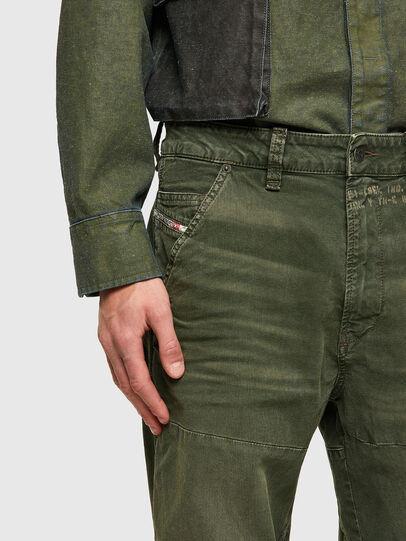Diesel - D-Azerr JoggJeans® 069WH, Verde Militar - Vaqueros - Image 5