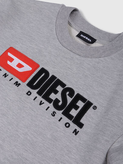 Diesel - SCREWDIVISION OVER, Gris - Sudaderas - Image 3