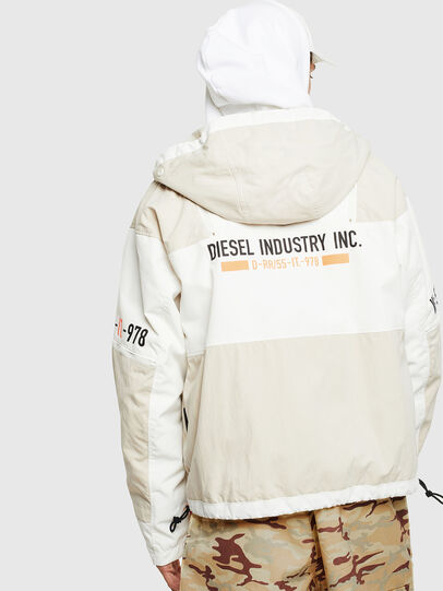 Diesel - J-REED, Blanco - Chaquetas - Image 3