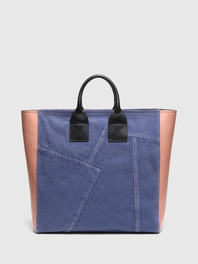 Diesel - LEENA L, Azul marino/Rosa - Bolsos Shopper y Al Hombro - Image 2