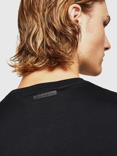 Diesel - TEORIALE-X2, Negro - Camisetas - Image 5