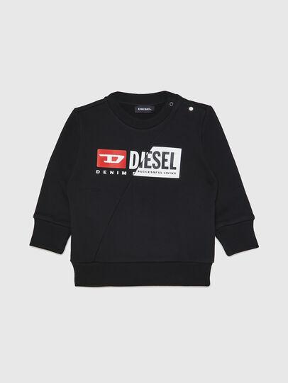 Diesel - SGIRKCUTYB, Negro - Sudaderas - Image 1