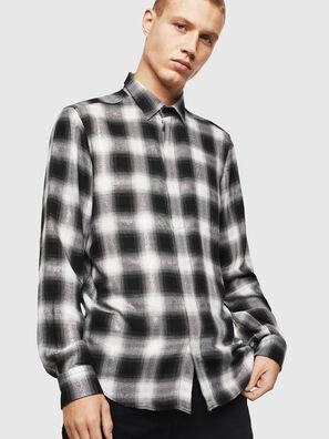 S-MARLENE-C, Negro/Blanco - Camisas