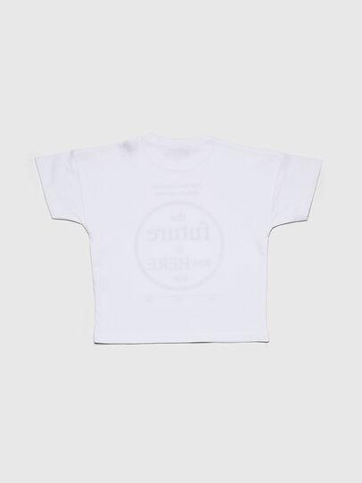 Diesel - TARTIB-R, Blanco - Camisetas y Tops - Image 2