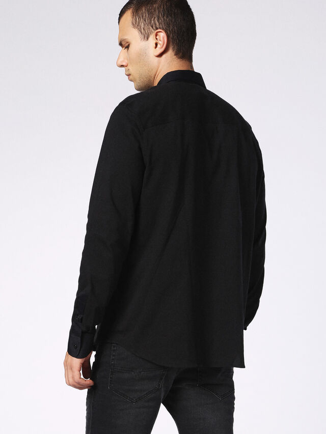 DVL-SHIRT-MALE-RE, Negro