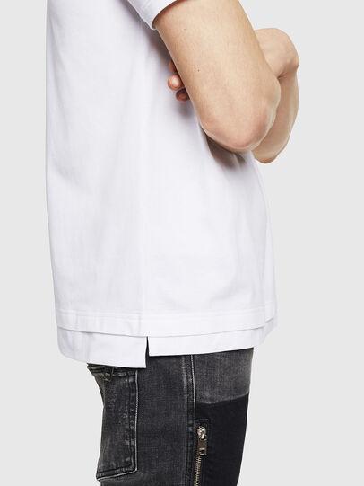 Diesel - T-CHERUBIK-NEW, Blanco - Camisetas - Image 4