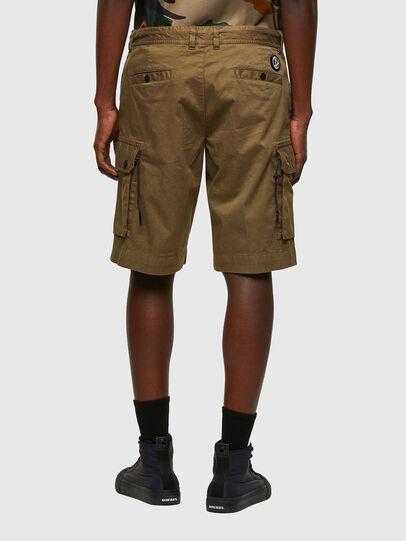 Diesel - P-APE, Verde Militar - Shorts - Image 2
