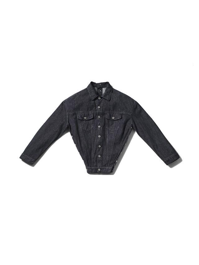 Diesel - GMJK02, Black Jeans - Chaquetas - Image 1