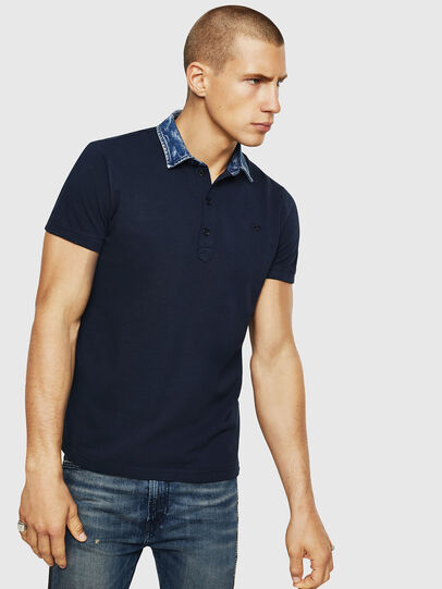 Diesel - T-MILES-NEW, Azul Oscuro - Polos - Image 1