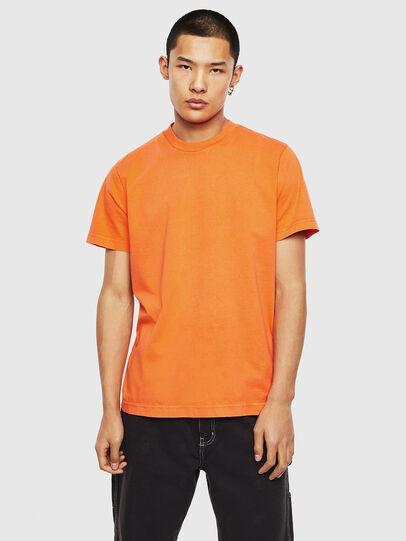 Diesel - T-THURE, Naranja - Camisetas - Image 1