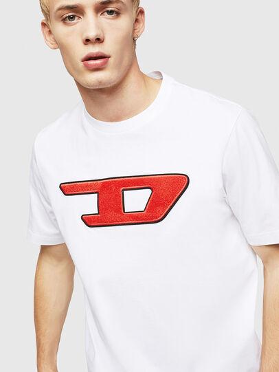 Diesel - T-JUST-DIVISION-D, Blanco - Camisetas - Image 3