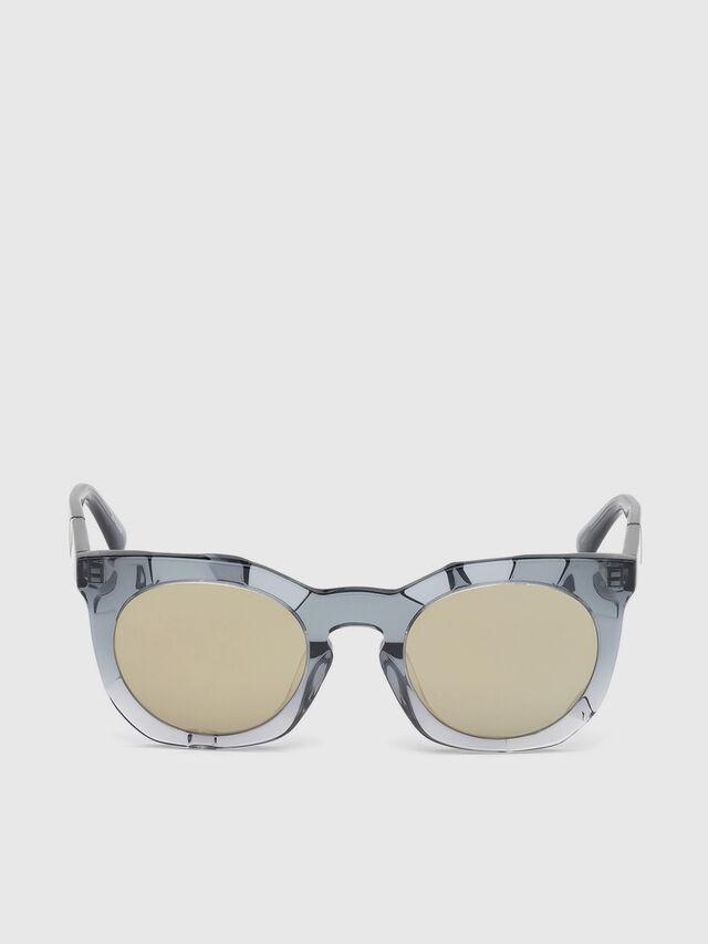 Diesel - DL0270, Gris - Gafas de sol - Image 1