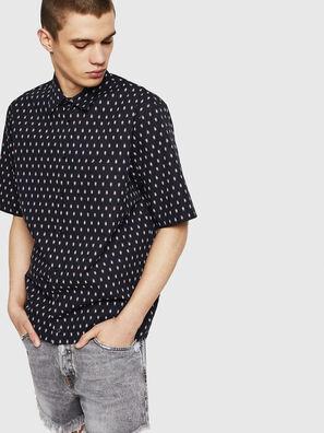 S-FRY-SKULL, Negro - Camisas
