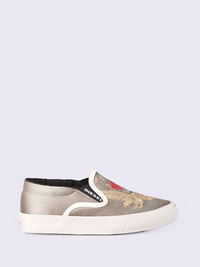SLIP ON 20 EAGLE-ROS, Dorado/Blanco