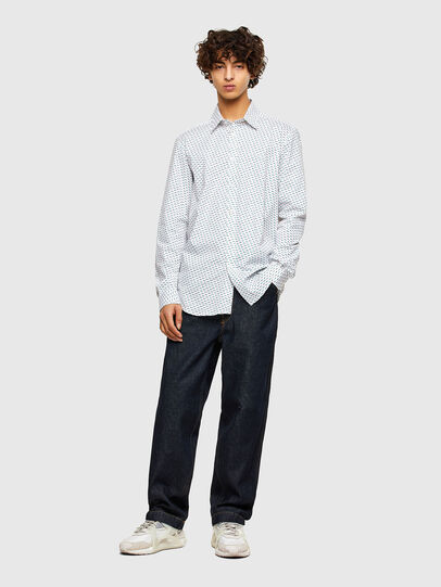 Diesel - S-RILEY-KA-A, Blanco - Camisas - Image 4