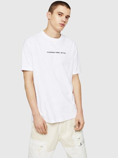 Diesel - T-JUST-COPY, Blanco - Camisetas - Image 4