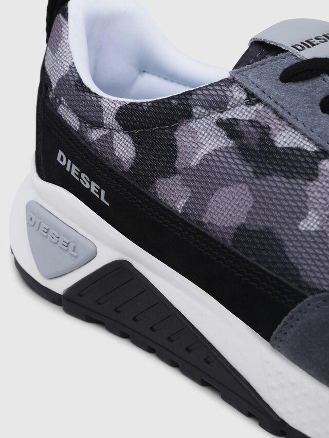 Diesel - S-KB LOW LACE, Gris/Negro - Sneakers - Image 5