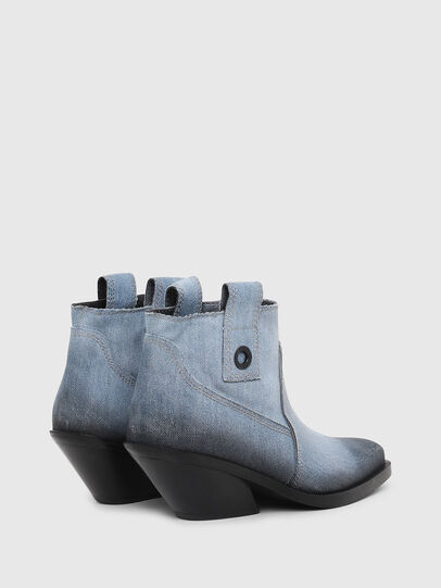 Diesel - D-GIUDECCA MAB, Blue Jeans - Botines - Image 3