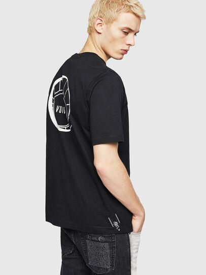 Diesel - T-JUST-A8, Negro - Camisetas - Image 2