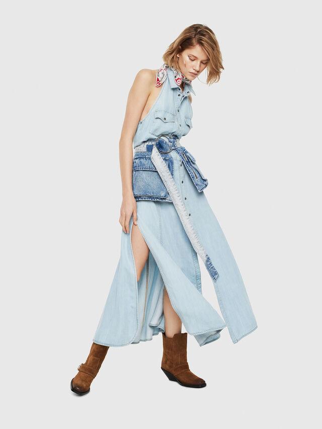 Diesel - DE-POKY, Blue Jeans - Vestidos - Image 3