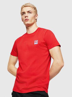 T-DIEGO-DIV, Rojo Fuego - Camisetas