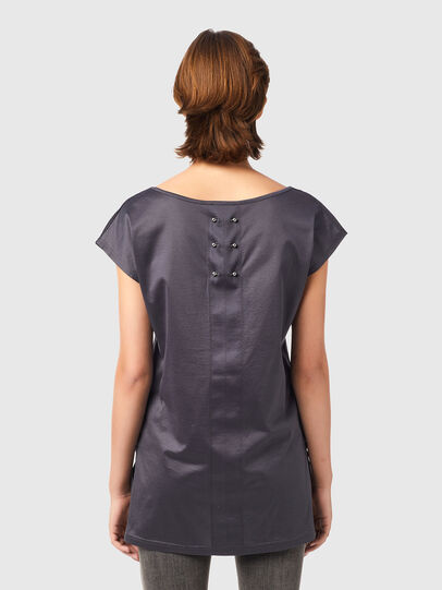 Diesel - T-IMMERS-B1, Gris oscuro - Tops - Image 2