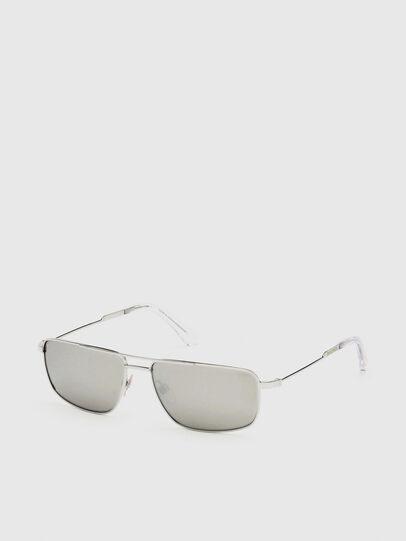 Diesel - DL0308, Blanco - Gafas de sol - Image 2