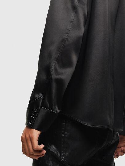 Diesel - S-VEL, Negro - Camisas - Image 6