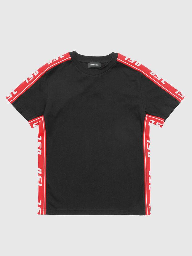 TJUSTRACE, Negro/ Rojo - Camisetas y Tops
