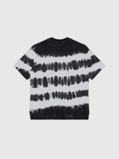 Diesel - TJUSTA38 OVER, Negro/Blanco - Camisetas y Tops - Image 2