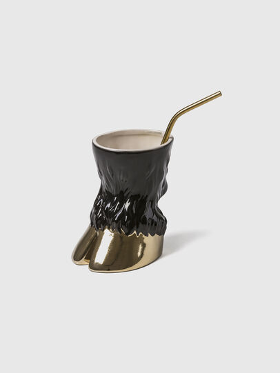 Diesel - 11082 Party Animal, Dorado/Negro - Tazas - Image 2