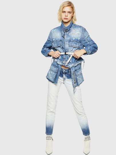 Diesel - DE-MERYL, Blue Jeans - Chaquetas de denim - Image 5