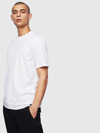 Diesel - T-GLASSY, Blanco - Camisetas - Image 1