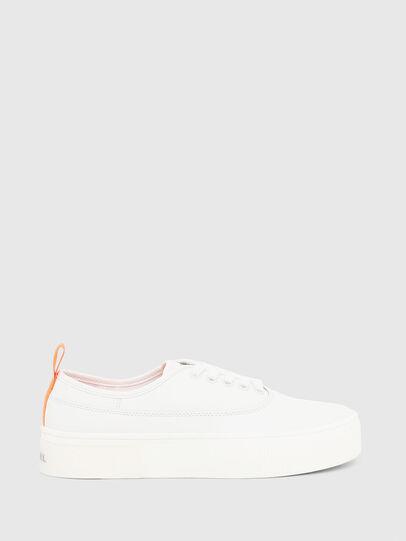 Diesel - S-VANEELA LOW, Blanco/Naranja - Sneakers - Image 1
