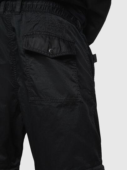Diesel - P-CASHORT, Negro - Pantalones - Image 3
