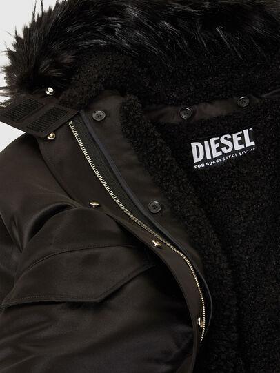 Diesel - W-URSULA-A, Negro - Chaquetones de invierno - Image 8