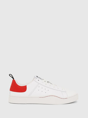 S-CLEVER LOW, Blanco/Rojo - Sneakers